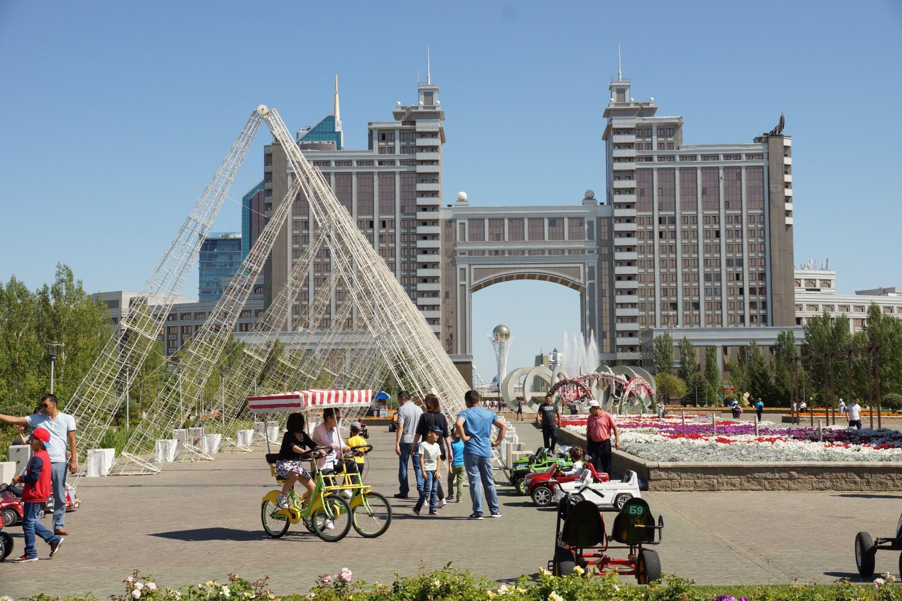 Парк Гашыктар - аллея