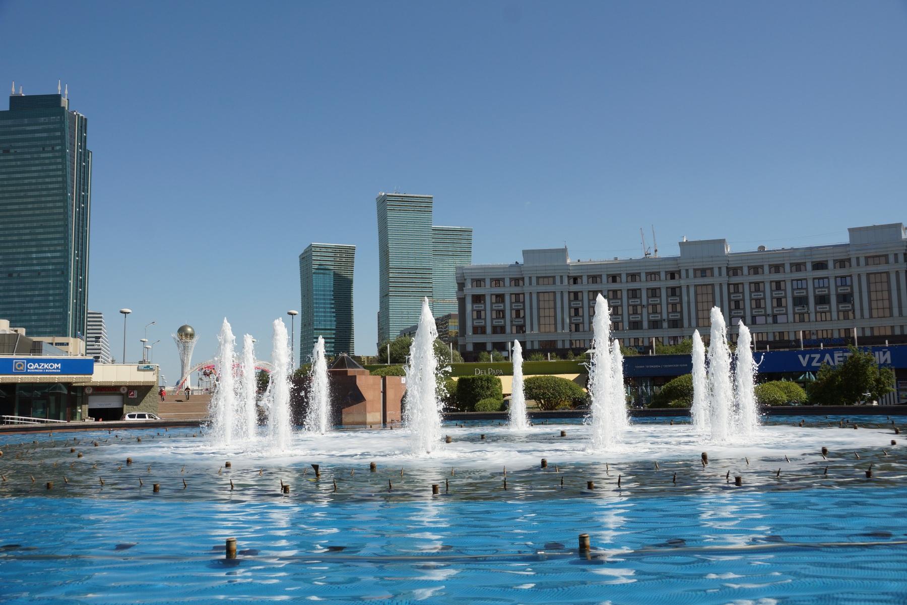Астана Фонтан