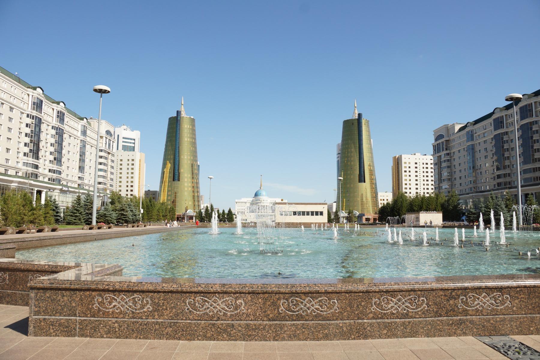 Золотые башни Астана
